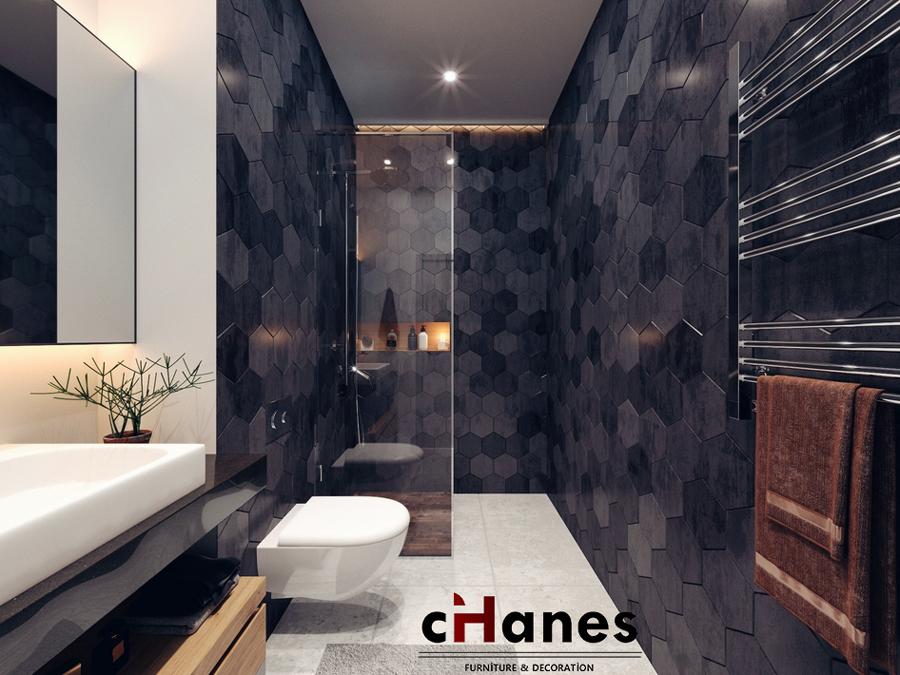 cihanes banyo dekorasyonu 2