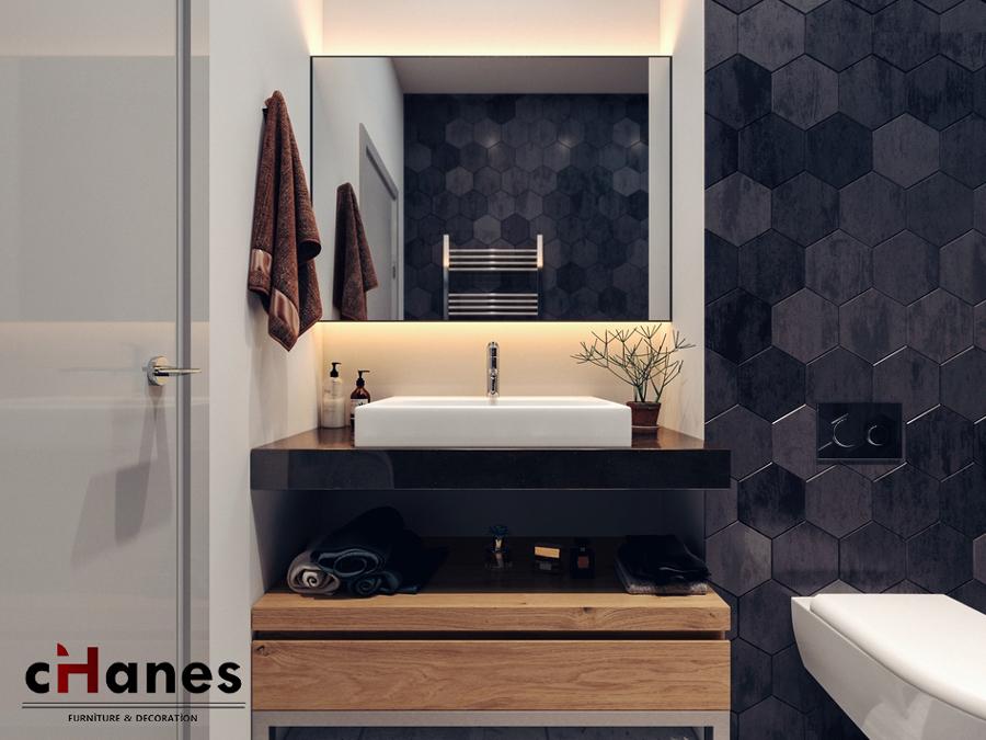 cihanes banyo dekorasyonu