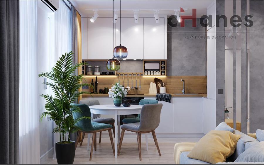 2019 1+1 ev salon dekorasyon örnekleri