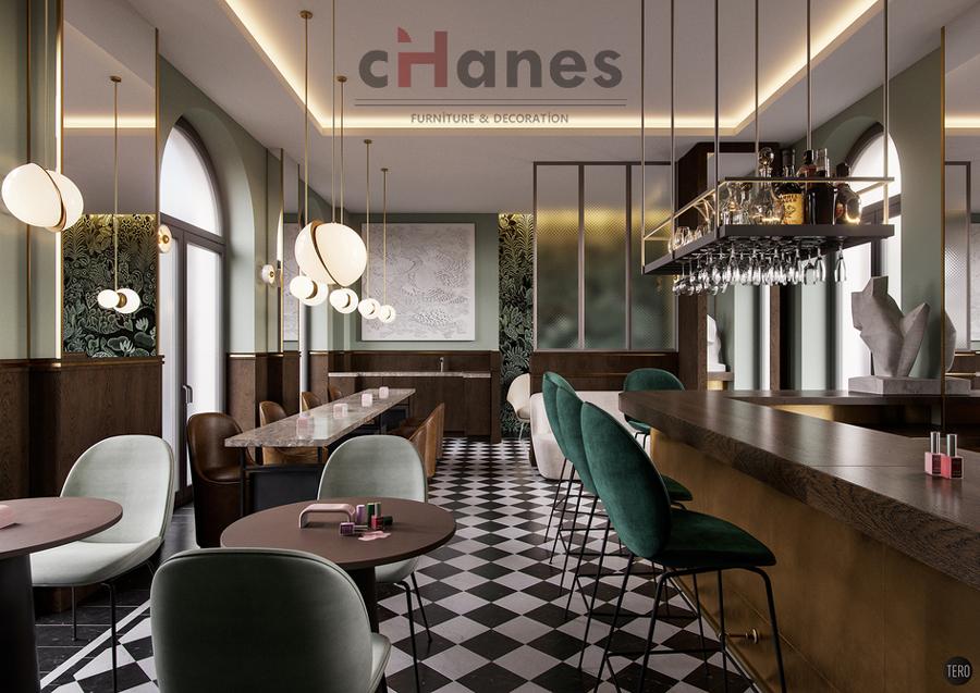 Modern Cafe Dekorasyonu
